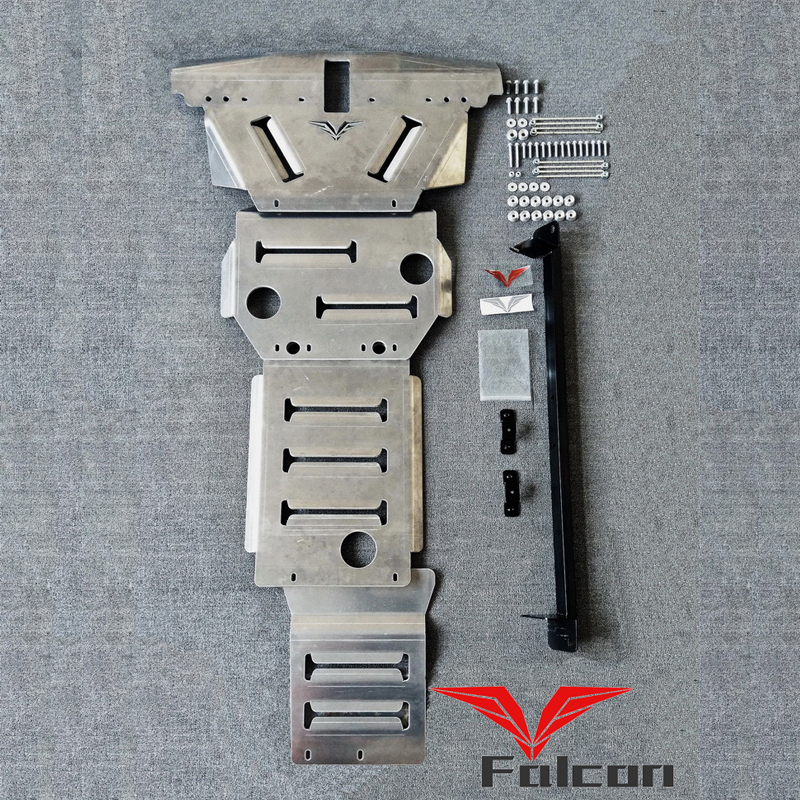 专用于途乐Y62 8mm铝镁合金护板车底水箱变速器分动箱防护