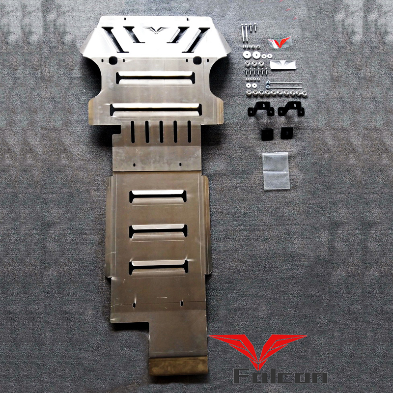 适用于丰田坦途1794改装8MM铝镁合金底盘护板发动机护板底盘装甲