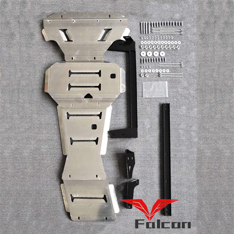 适用于纳瓦拉NAVARA皮卡8mm铝镁合金下护板 油箱护板 发动机护板