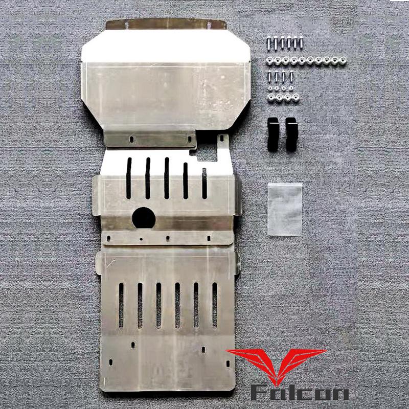 专用于福特撼路者车底防护板发动机挡板油箱护板8mm铝镁合金