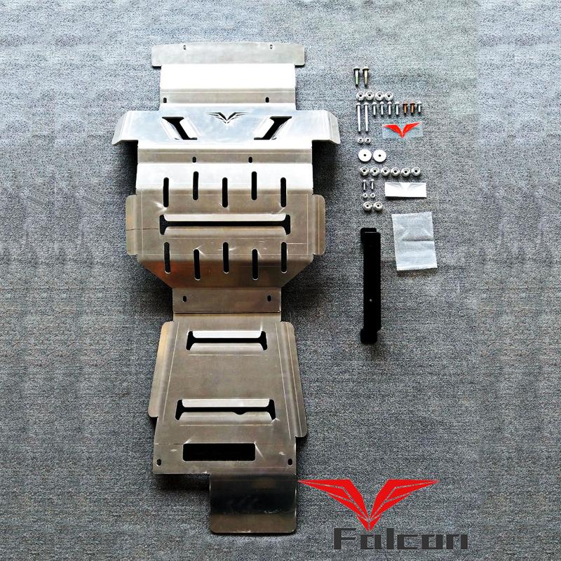 用于哈弗H9 8MM铝镁合金护板彻底防护板底盘装甲FALCON长城哈佛
